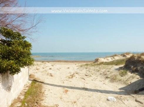 Villetta sulla spiaggia accesso diretto mare 8 posti letto