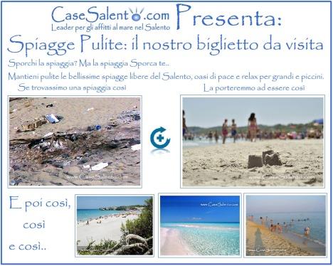 Spiagge libere pulite associazioni volontariato imprenditori cittadini case vacanza