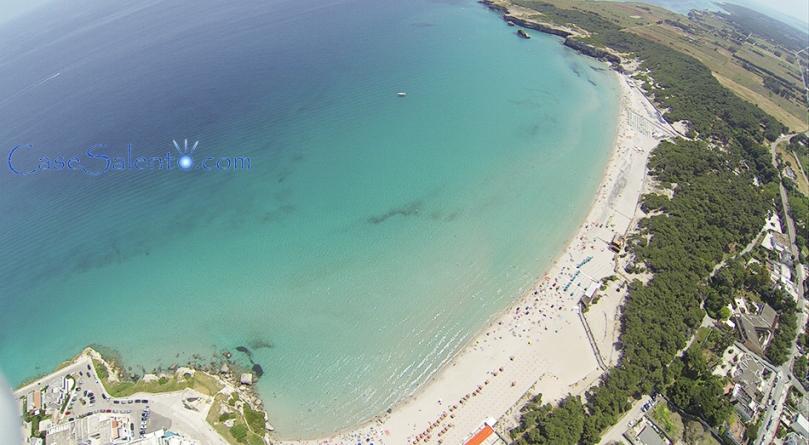 Foto aerea spiaggia Torre Dell'Orso