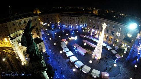 Foto aerea con Drone di Piazza Sant'Oronzo