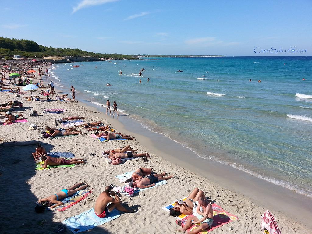 Spiaggia Baia dei Turchi Otranto