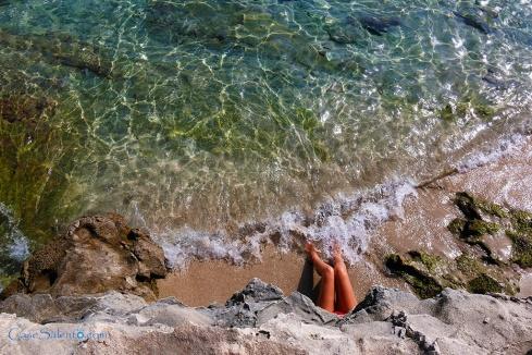 Spiaggette calettte sabbiose Torre Specchia San Foca