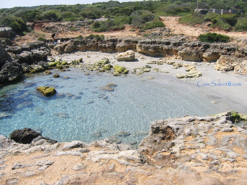 spiaggia Conca Specchiulla baia
