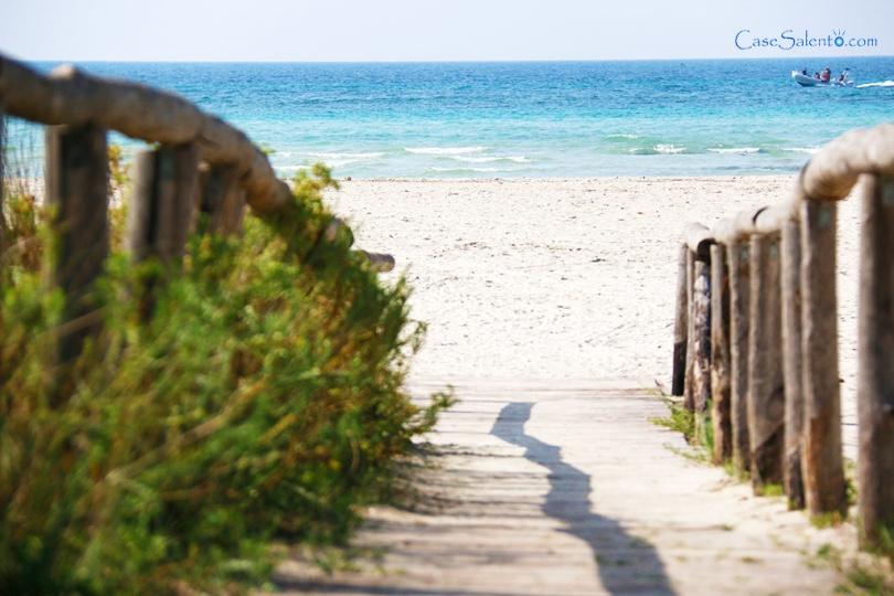 Spiaggia di sabbia di Torre San Giovanni
