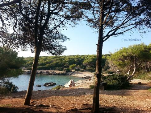 Spiaggia Porto Selvaggio parco naturale Nardò