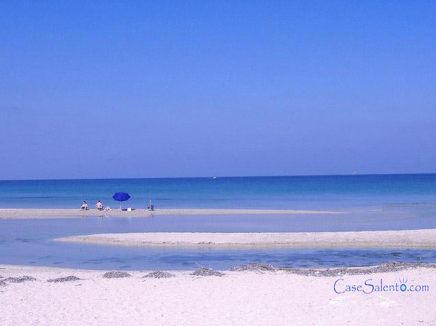 spiaggia Torre Chianca marina di Lecce