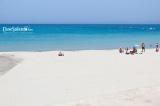 "The fine sandy beach of the ""Marangi"" of San Foca"