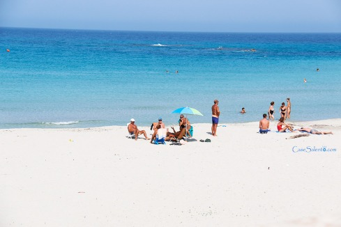 Spiaggia sabbia San Foca Marangi
