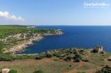 Porto Selvaggio's bay